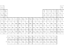 B/w Long Form Periodic Table