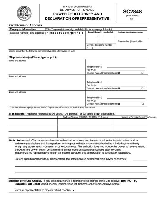 south carolina state income tax witholding form