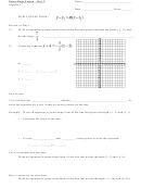 Point-slope Worksheet