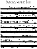 Swinging Shepherd Blues Sheet Music