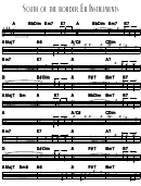 South Of The Border Eb Instruments Sheet Music