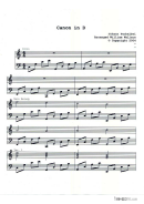 Canon In D Piano Sheet Music