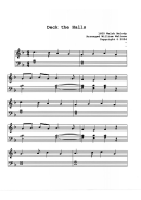 Deck The Halls (william Wallace) Piano Sheet Music
