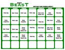 Body Beast Lean Schedule Month 3