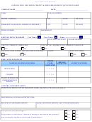 Equal Opportunity Employer Application For Employment & Pre-employment Questionnaire