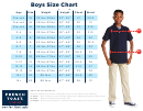 French Toast Boys Size Chart