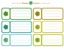 Binder Spine Template