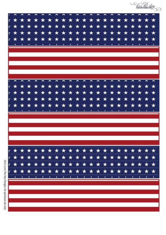 Patriotic Paper