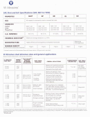 W Abrasives Sae Shot And Grit Specifications Chart