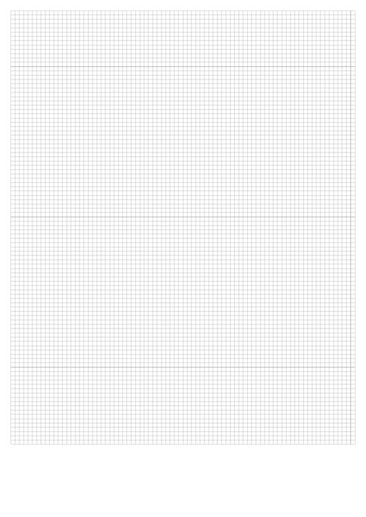 Graph Paper (Gray On White) Printable pdf