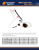 Shoe Cover Pro Size Chart