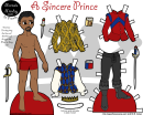 Sincere Prince Paper Doll Template