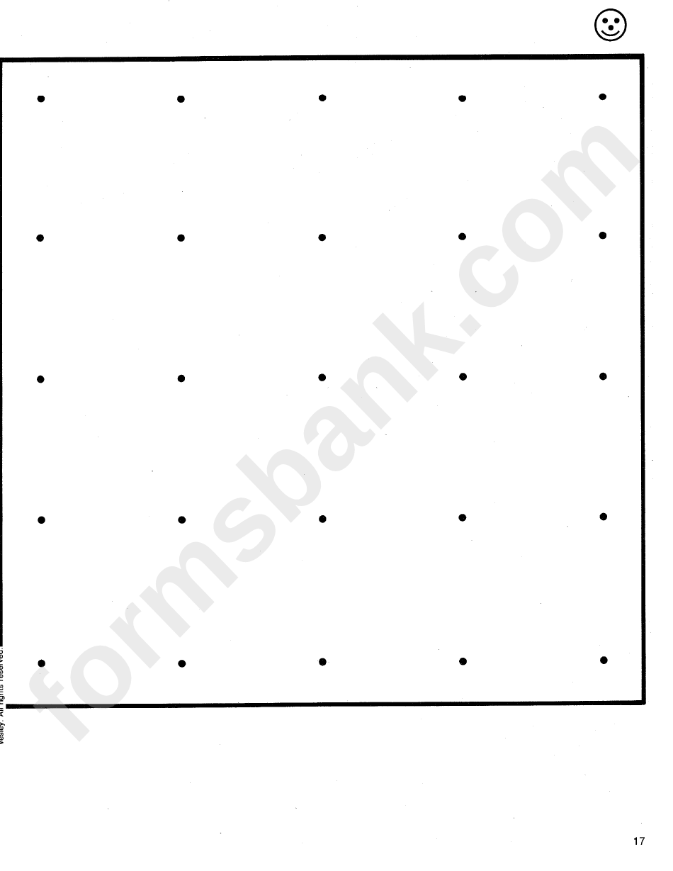 This is an image of Transformative Dot Paper Printable