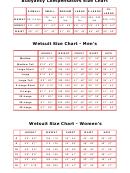 Divers Unlimited Wetsuit Size Chart
