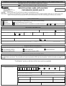 Form Dl 5 - Identification Card Application For Minors Under Age 15