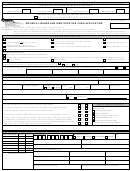 Form Dl 1p - Driver's License And Identification Card Application