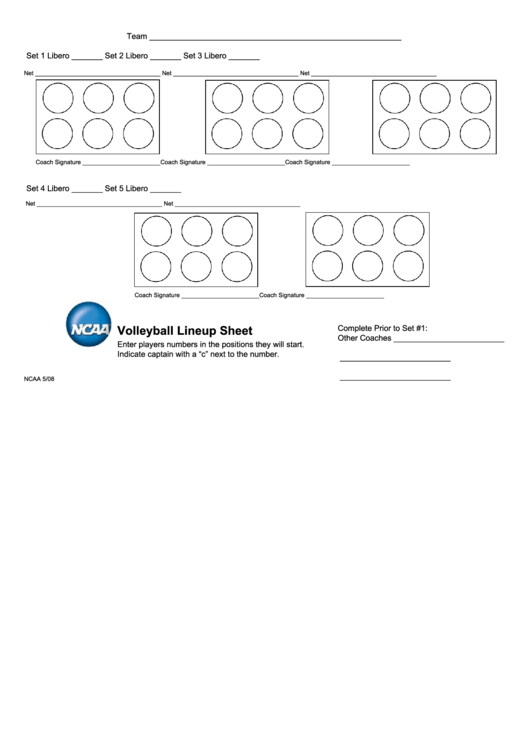 Lucrative image intended for volleyball lineup sheet printable