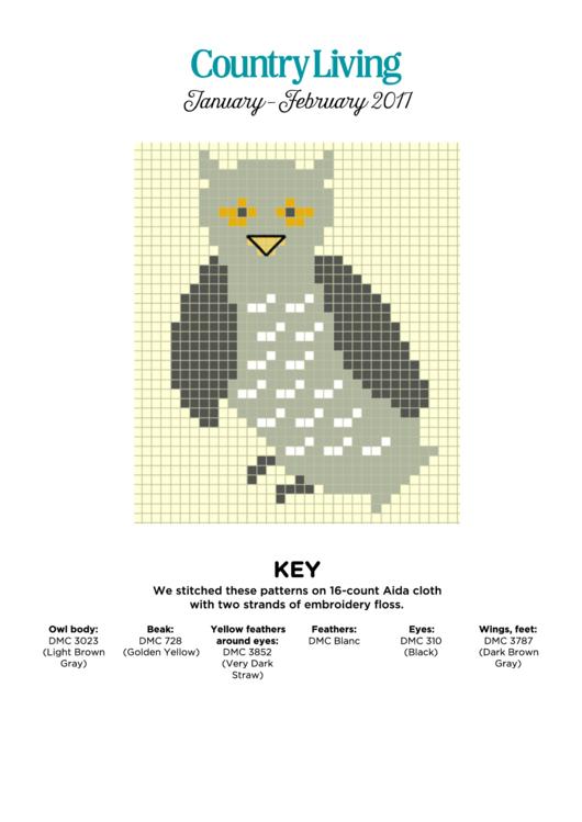 Cross Stitch Patterns Printable pdf