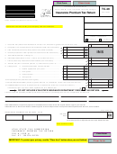 Form Tc-49 - Insurance Premium Tax Return - 2009