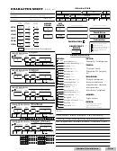 D And D 5e Quick Play Character Sheets Elf Rogue