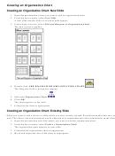 Creating An Organization Chart Template
