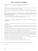 Undp Internship Agreement