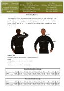 J. Wippel & Co Ltd. Mens Shirt Size Chart