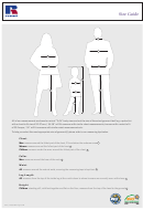 Russel Size Guide