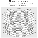 Hahn Hall Seating Chart Non-festival Months