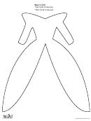 Elsa Dress Cutout