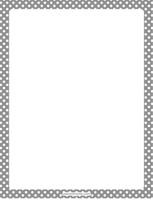 Blank Stationery (Without Lines) Printable pdf
