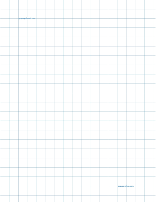 1/2 Inch Graph Paper Template Printable pdf