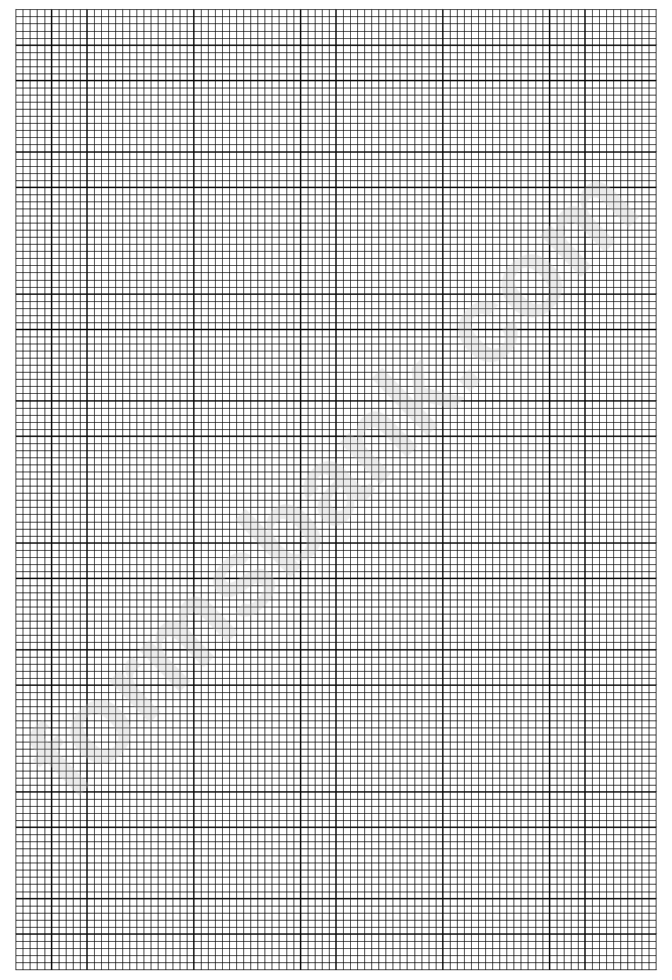 2mm With 10mm Bold Graph Paper