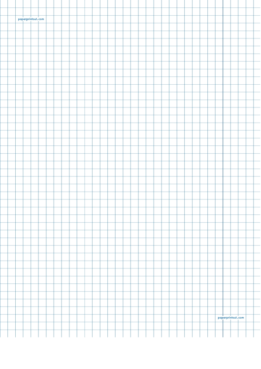 1 4 Inch Graph Paper Printout Printable Pdf Download