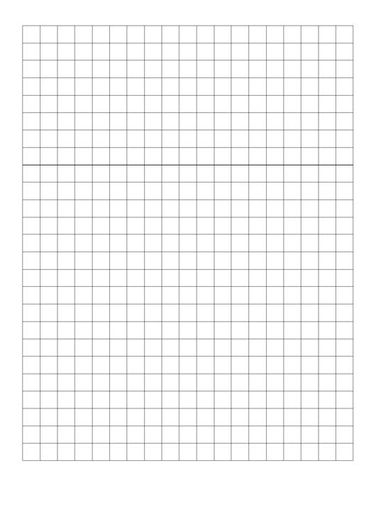 1 Centimeter Graph Paper Printable pdf