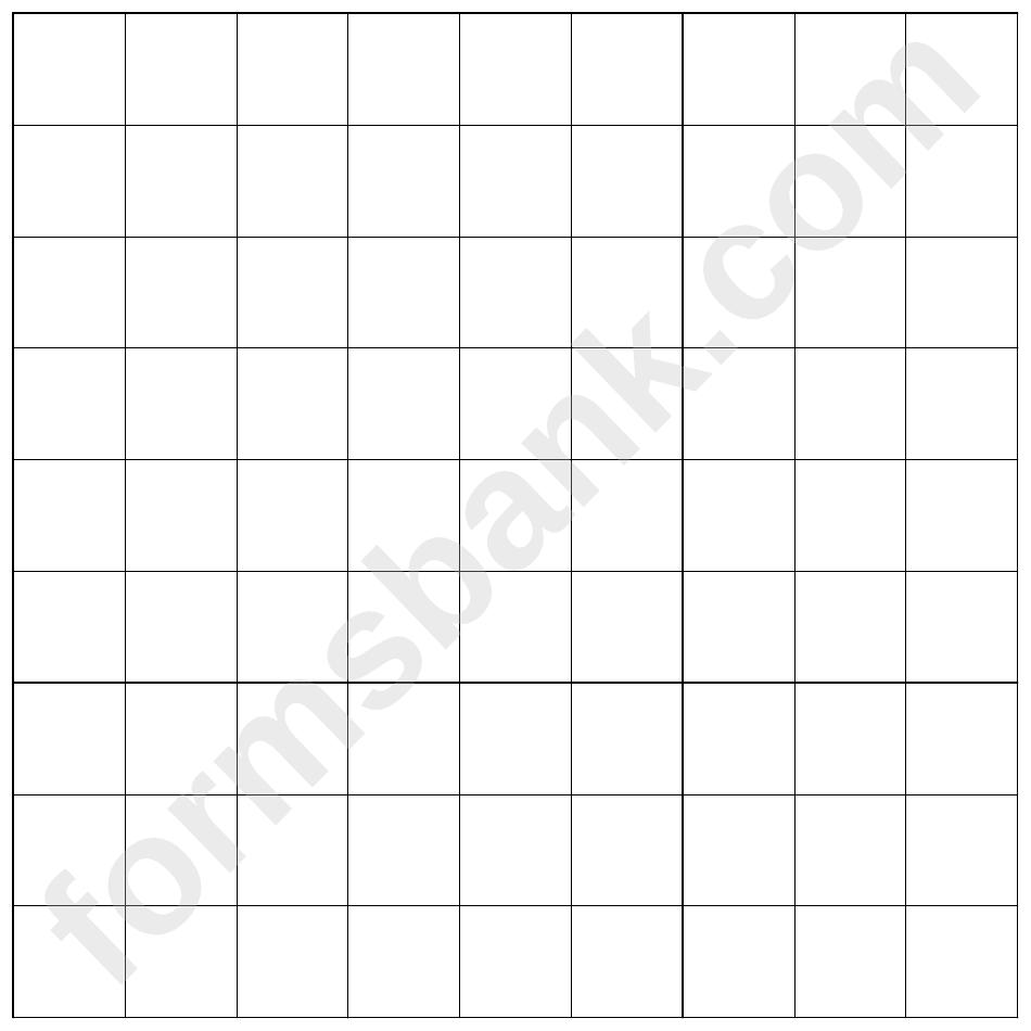 Graph Paper - Square